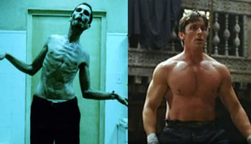 Christian Bale Musculation et protéine
