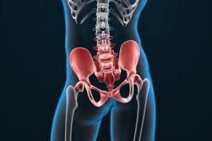 Articulation de la hanche, douleur sacro-iliaque et lombaires