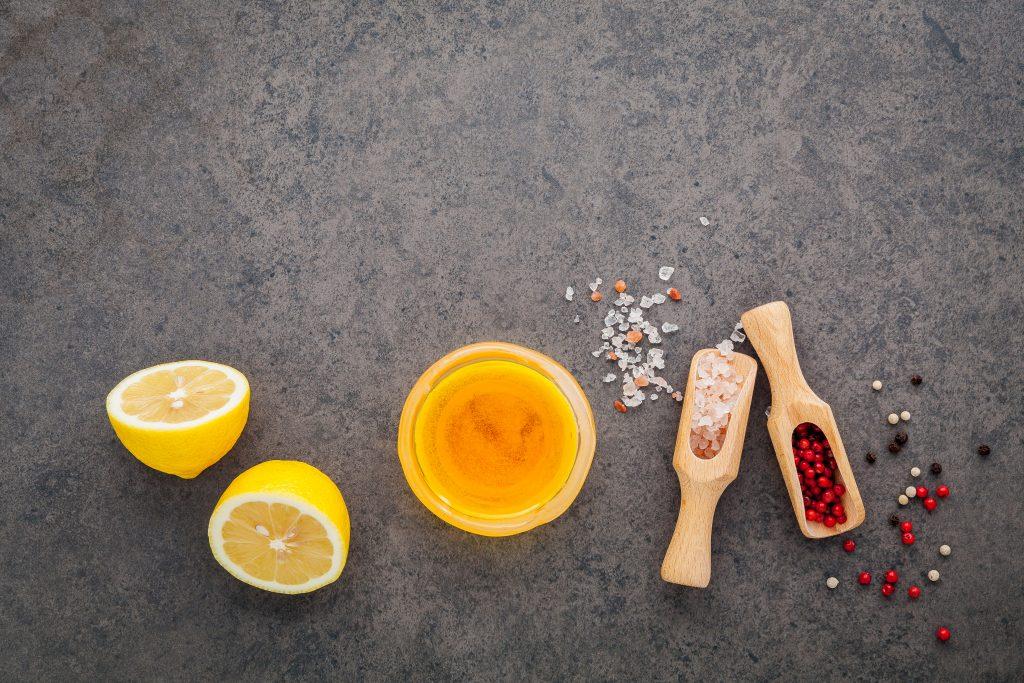 Ingrédients pour vinaigrette